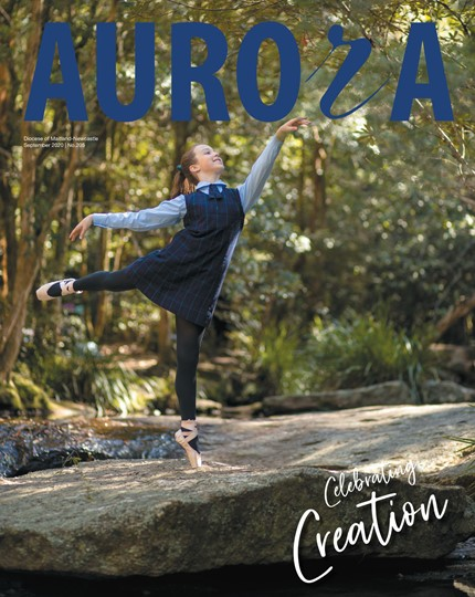 Aurora Magazine September 2020 Cover