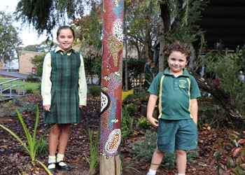 GALLERY: St Brigid's officially reveals its Cultural Garden IMAGE
