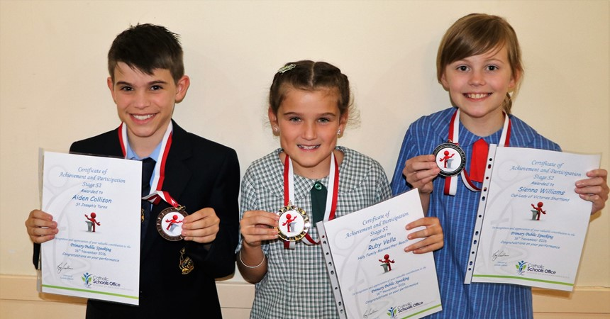 Diocesan Primary Public Speaking Finals IMAGE