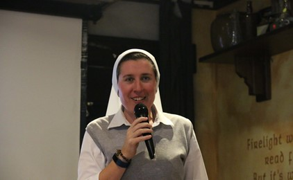Pints with a Purpose – The radical nun living a life on purpose IMAGE