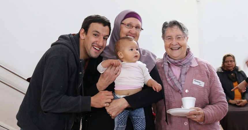 GALLERY - Morning tea with the Muslim community IMAGE