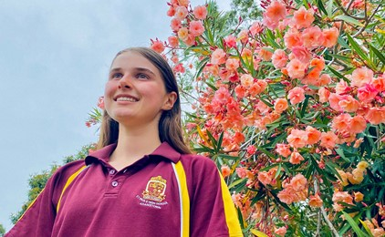 Local teen on cloud nine after scoring big in national song writing competition   Image