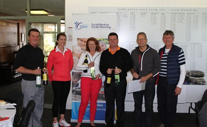 Inclement Weather No Handicap to Corporate Golf Day Success IMAGE