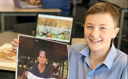 Lochinvar students bag a charitable chance IMAGE