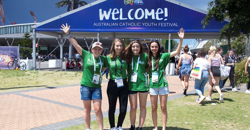 The Australian Catholic Youth Festival: vibrancy, vitality and youthful exuberance IMAGE