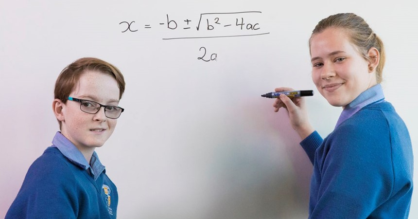 Catering for all – Mathematics at St Joseph's Lochinvar IMAGE