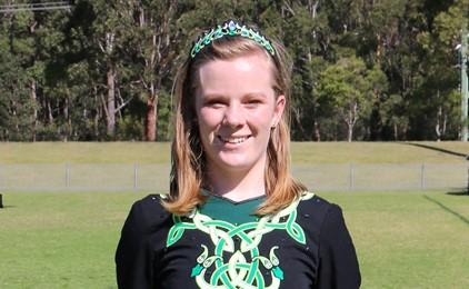 Image:Sabine qualifies for Irish Dance World Open Championships