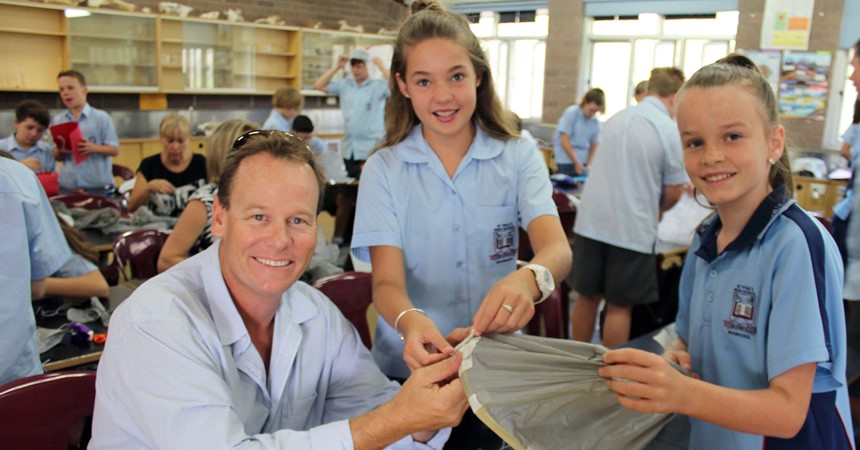 Back to school for parents at St Paul's IMAGE