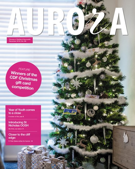 Aurora Magazine December 2018 Cover