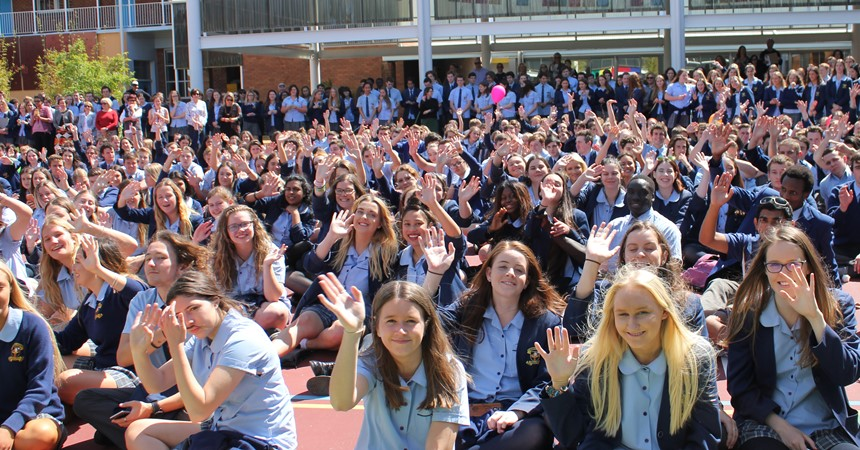 GALLERY: So long, farewell, good luck Year 12 class of 2016 IMAGE