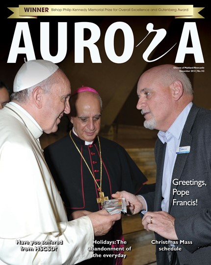 Aurora Magazine December 2014 Cover