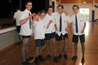 St Paul's students take their socks off for solidarity