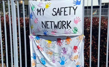 Image:Rosary Park celebrate Child Protection Week 2021