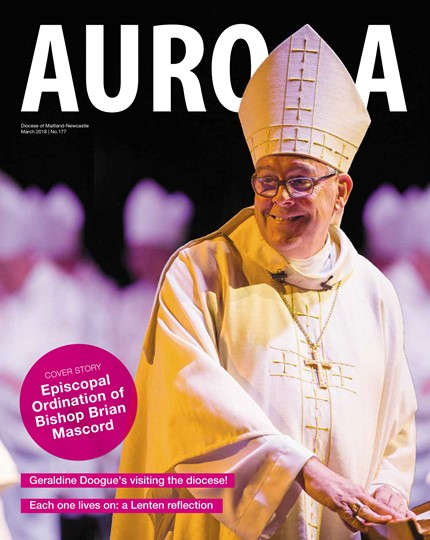 Aurora Magazine March 2018 Cover