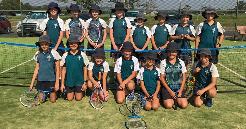 Net result is St Catherine's students shine at tennis  IMAGE