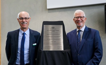 Image:St Clare's Taree officially opens the Josephite Learning Centre