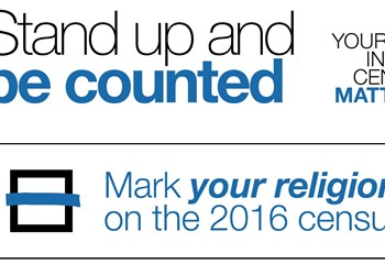 Mark your religion on the 2016 Census IMAGE