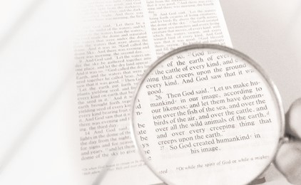 Seeing God through the looking glass IMAGE