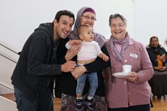 GALLERY - Morning tea with the Muslim community