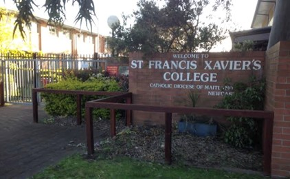 Image:Media Statement: Confirmed case of COVID-19, St Francis Xavier's College, Hamilton