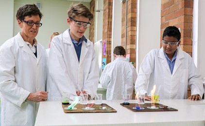 Students learn the science behind it all at St Joseph's Lochinvar  Image