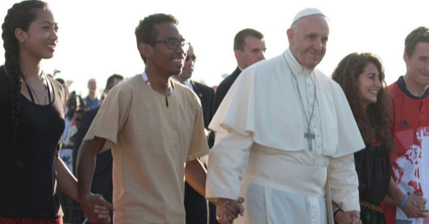 Pope Francis' Letter to Young People IMAGE