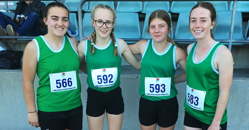 Students achieve success at NSWCCC Athletics Championships  IMAGE