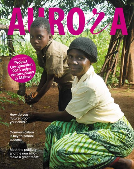 Aurora Magazine February 2016 Cover