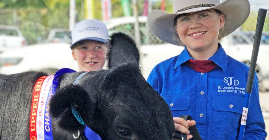 Upper Hunter success for St Joseph's cattle show team  IMAGE