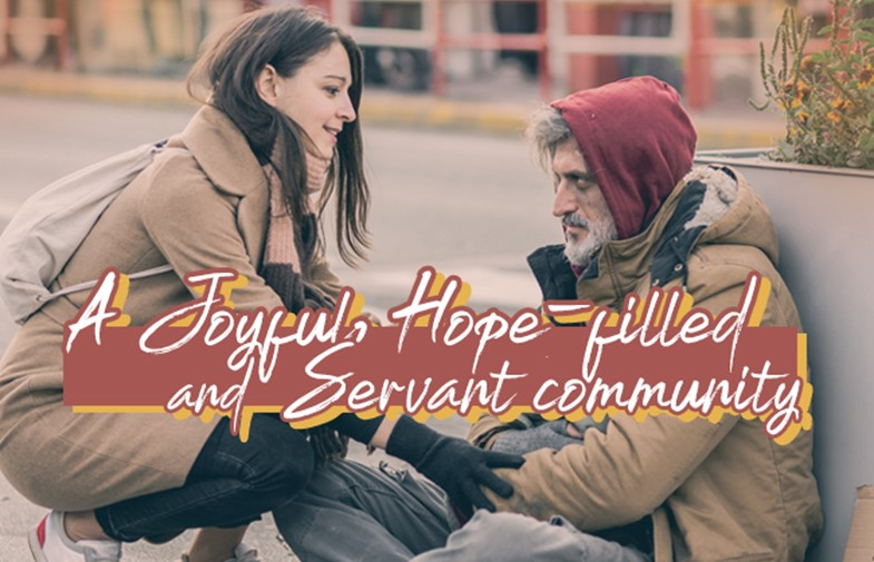 How is God calling us to be a Christ-centred Church that is a joyful, hope-filled and servant community? IMAGE