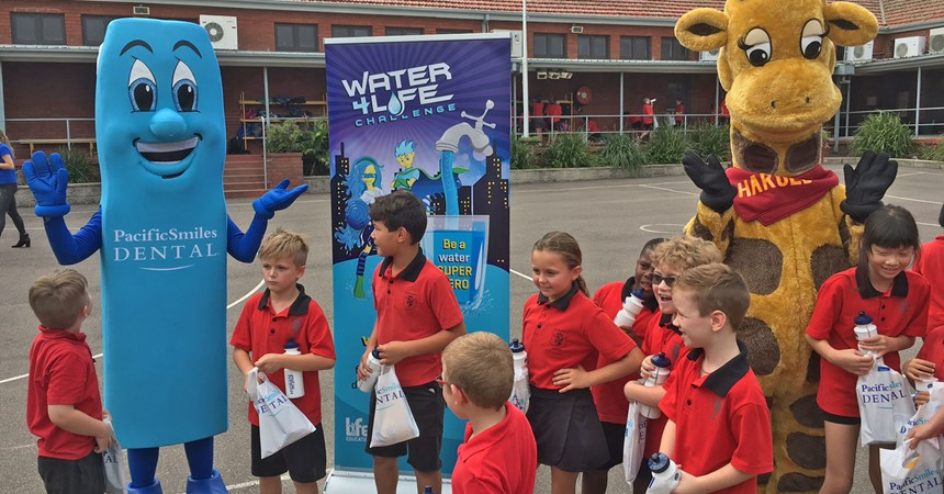 St Columban's water warriors IMAGE
