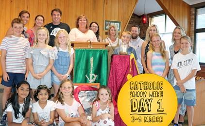 Image:GALLERY: Catholic Schools Week - Day 1