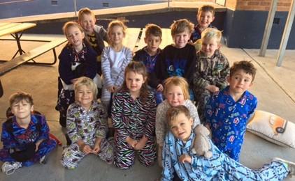 Image:St Joseph's fundraising pyjama party