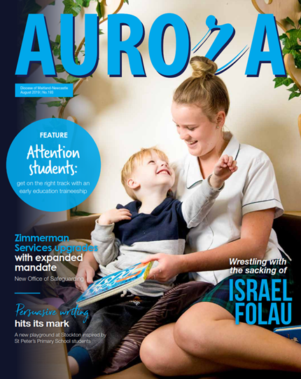 Aurora Magazine August 2019 Cover