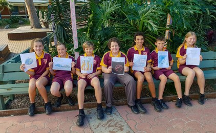 Image:Spectacular storytellers at Holy Name Forster