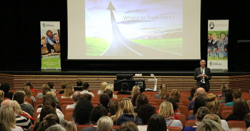600 teachers gather for Re-framing Learning Conference  IMAGE