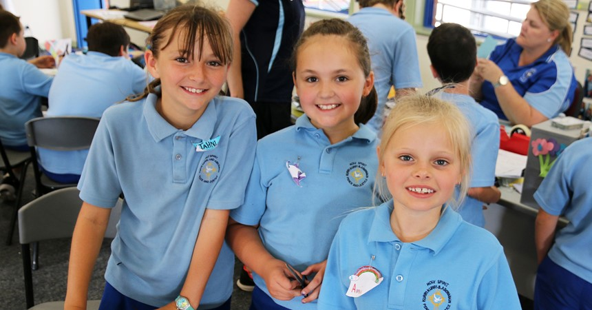 GALLERY: Year 3 transition day at Holy Spirit  IMAGE