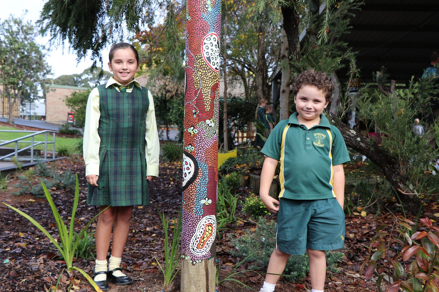 Image:GALLERY: St Brigid's officially reveals its Cultural Garden