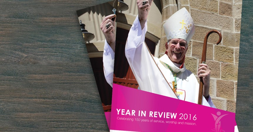 Diocese releases Year in Review 2016 IMAGE