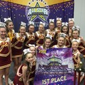 St Pius X are the champions at cheerleading Image