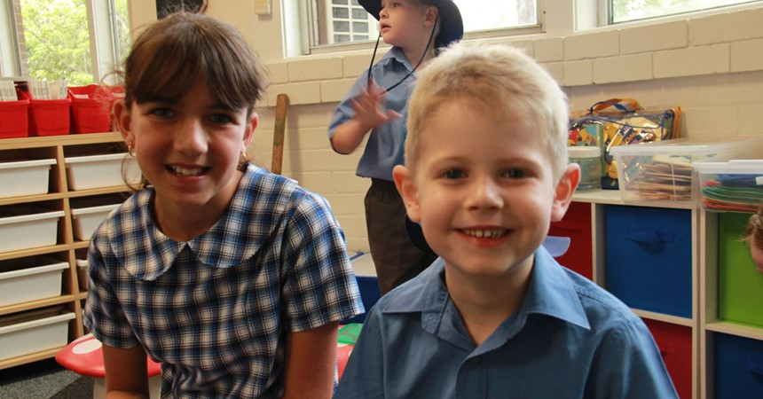 GALLERY: First day for Kindy students at St Kevin's Cardiff IMAGE