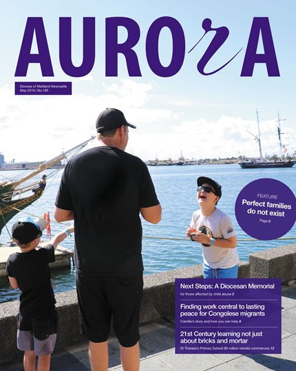 Aurora Magazine May 2019 Cover