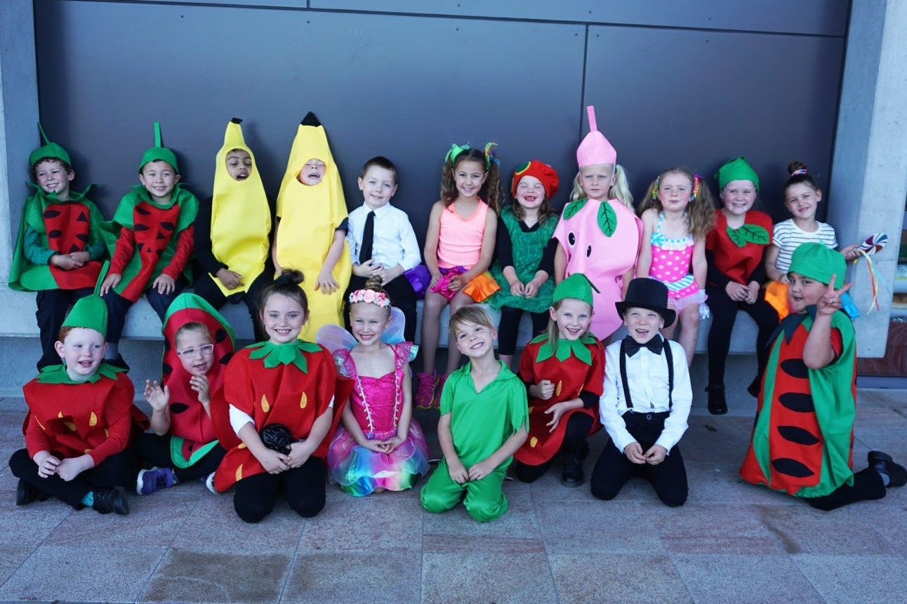 Image:'Step into a Story' with Holy Spirit Infants School!