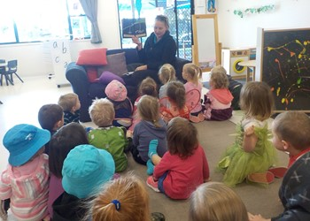 Book Week story time! IMAGE
