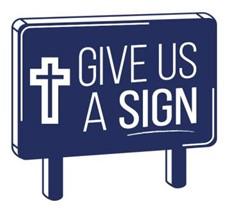 Give us a Sign logo
