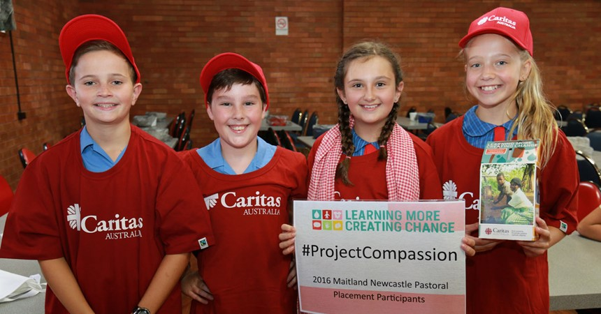 Diocesan schools raise over $45,000 for Project Compassion IMAGE