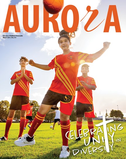 Aurora Magazine March 2021 Cover