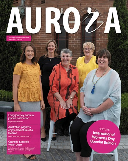 Aurora Magazine March 2019 Cover