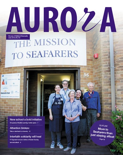 Aurora Magazine June 2019 Cover