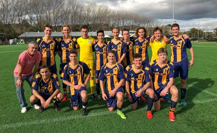 Image:Diocesan success at the NSWCCC Knockout Football Competition